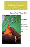 Campfire Pillow Set Pattern