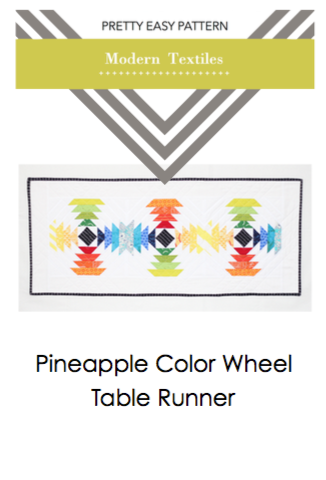 Pretty Easy Pattern - Pineapple Color Wheel Pattern