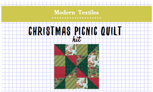 Christmas Picnic Quilt Kit