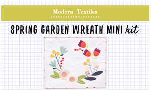 Flower Garden Spring Wreath Mini Kit