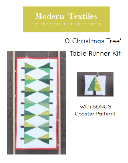O Christmas Tree Table Runner Kit