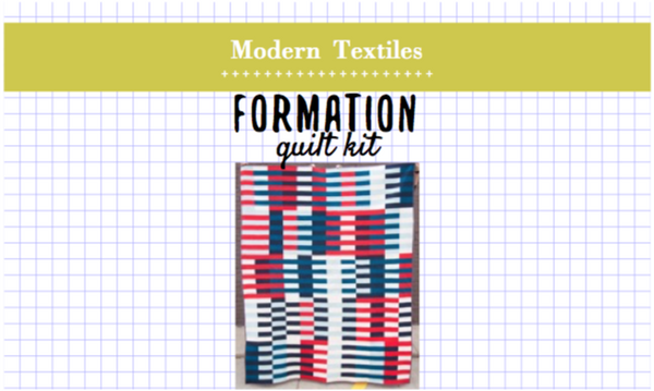Formation Twin Quilt Kit
