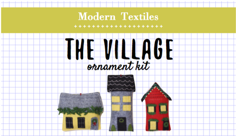 The Village Ornament Kit