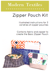 Pencil Pocket Zipper Pouch Kit