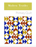 Primary Quilt PDF Quilt Pattern - Download