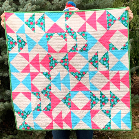 Primary Baby Quilt
