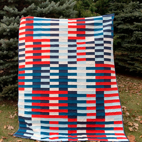 Formation Twin Quilt