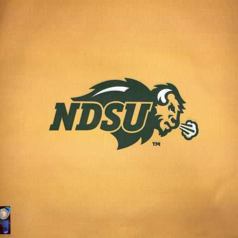 NDSU Bison Logo - Yellow