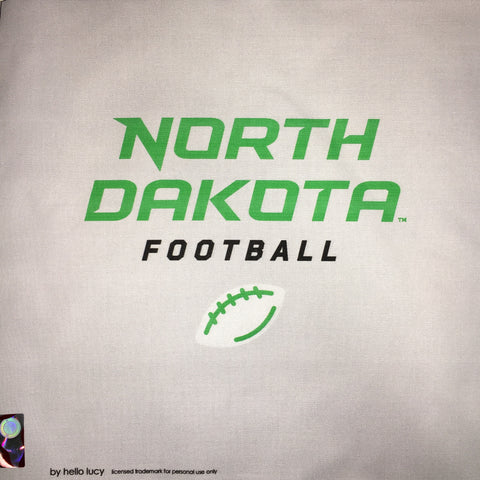 UND Football - Grey