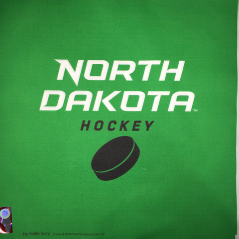UND Hockey Puck - Green