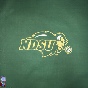 NDSU Bison Logo - Green