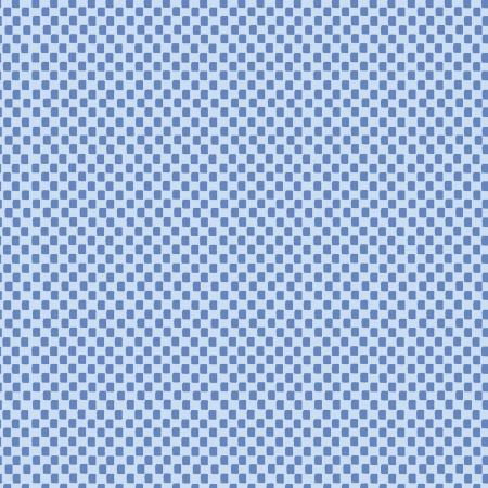Rifle Paper Wildwood - Checkers Blue - Fat Quarter