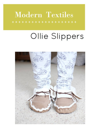 Ollie Slippers Pattern