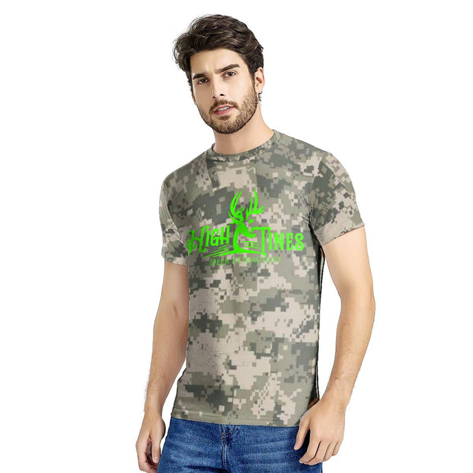 New Men's All digital camo T-shirt