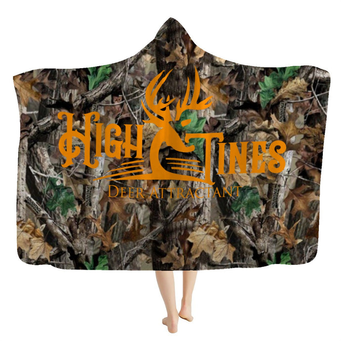 High Tines Hooded Blanket