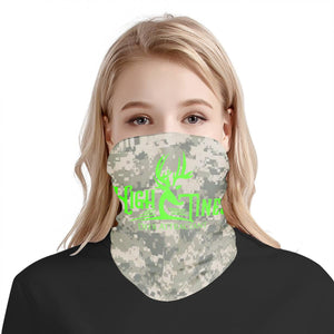 digital camo neck gaiter/ facemask