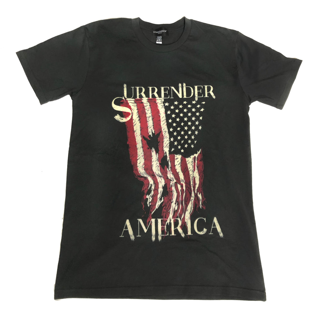 Surrender America Flag Tee