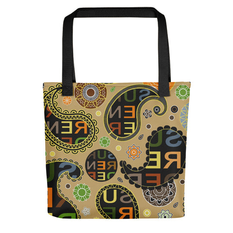 Surrender Paisley Tote bag