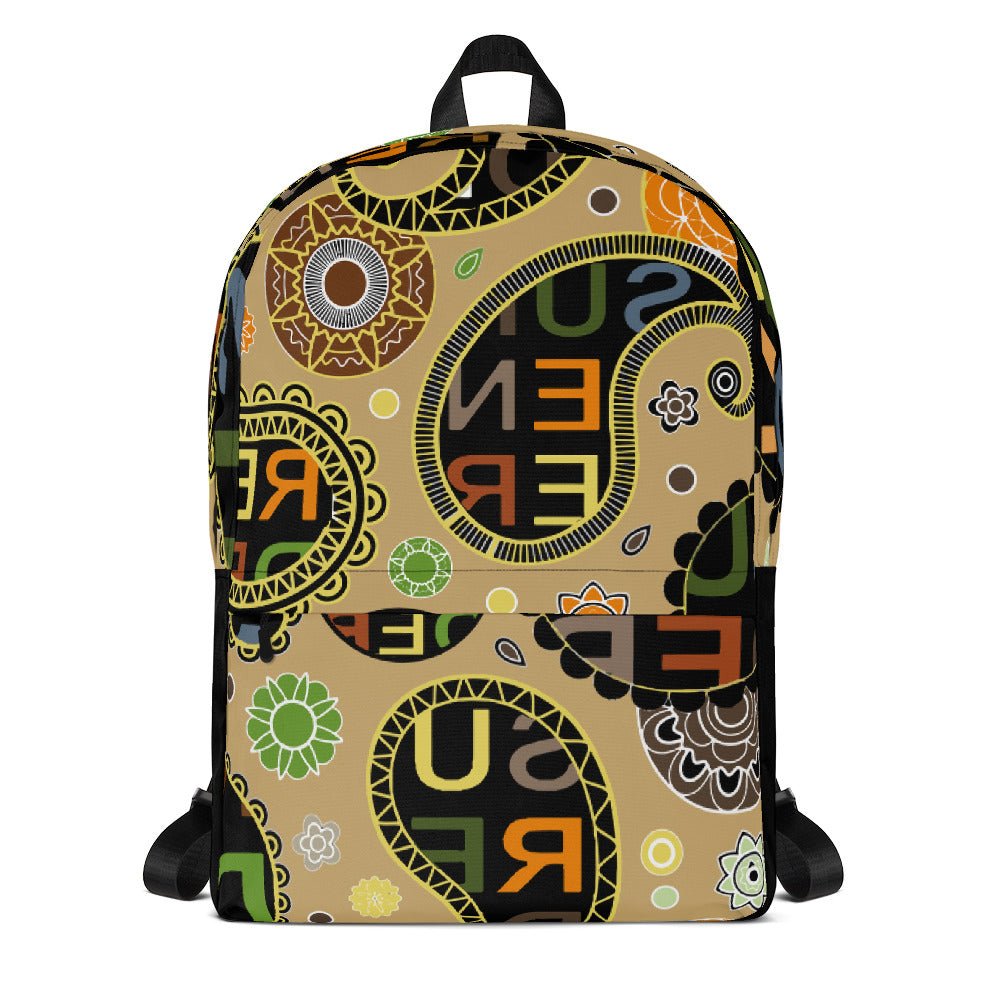 Surrender Paisley Backpack