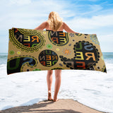 Surrender Paisley Beach Towel