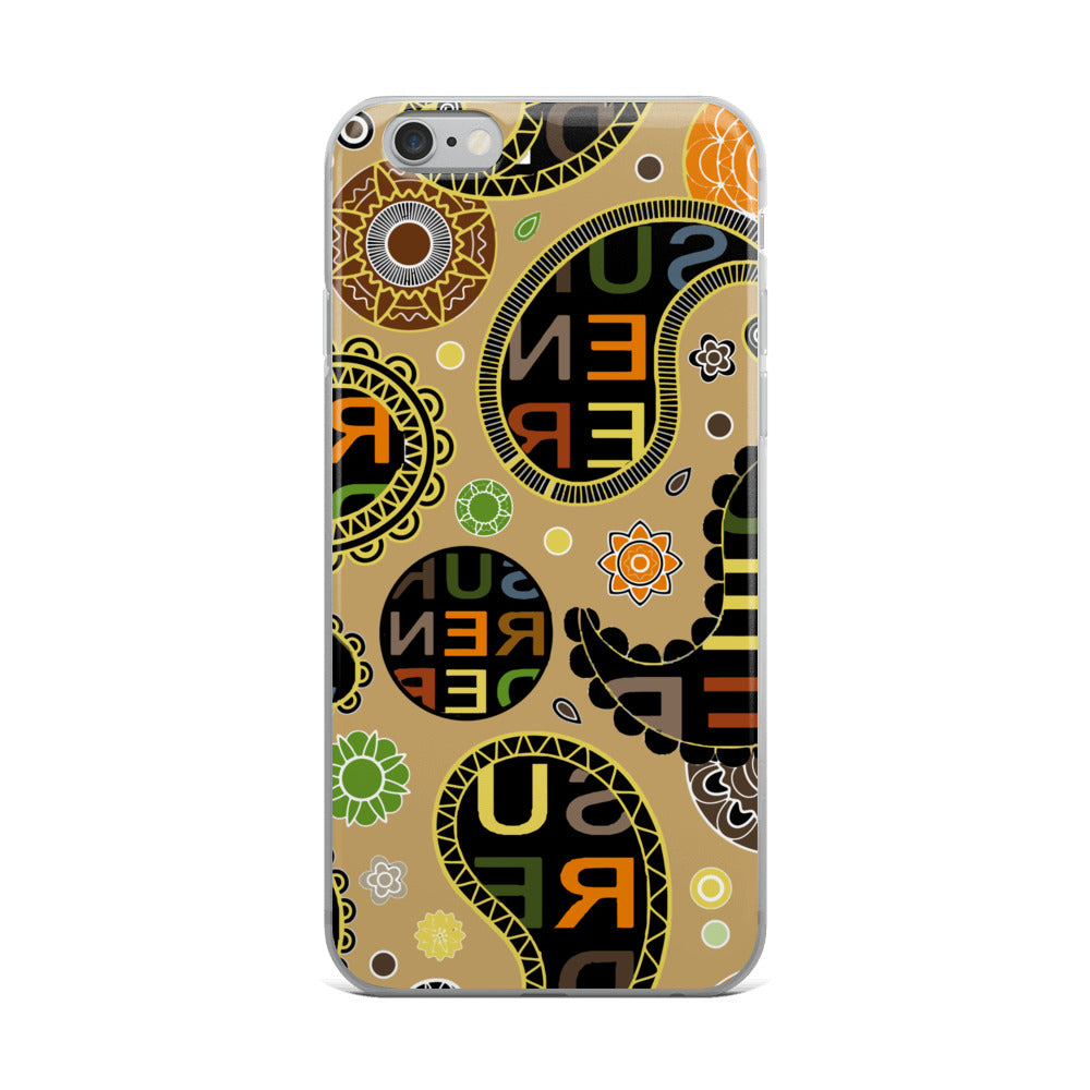 Surrender Paisley iPhone Case