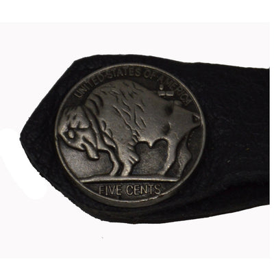 Buffalo Nickel vest extender
