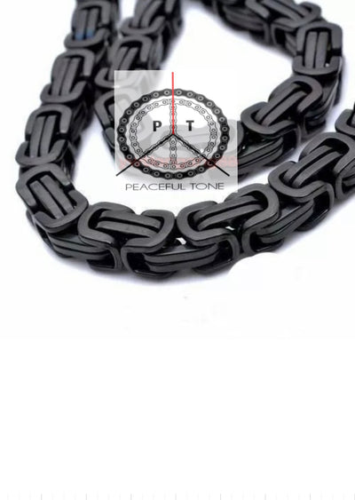 8mm Biz Chain-Black