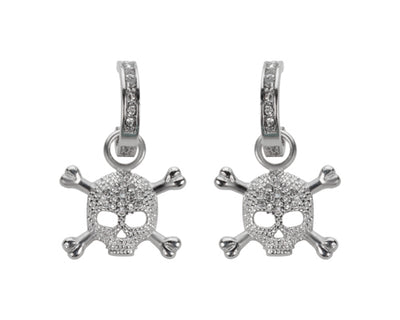 BLING SKULL EARRINGS