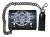 Skull wallet and chain