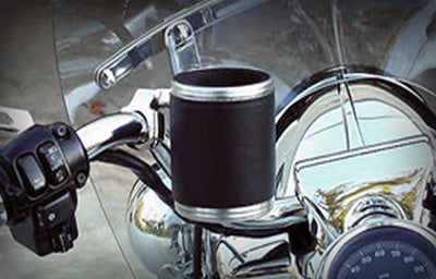 Kruzer Kaddy- Leather Wrap (handlebar mount)