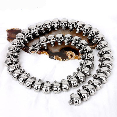 Hard Head Skull Necklace