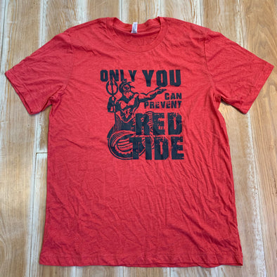 Men's Large shirt - Red Tide