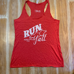 Women's Large tank - Run Y'all - Hatfield McCoy