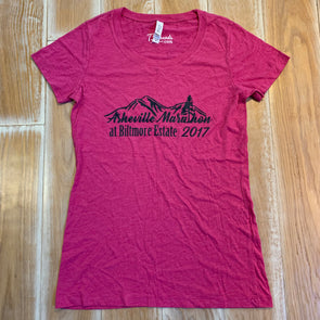 Women's Medium shirt - Asheville Marathon