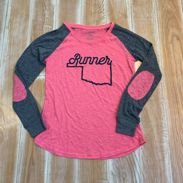 Women's Extra Small long sleeve - Oklahoma Runner