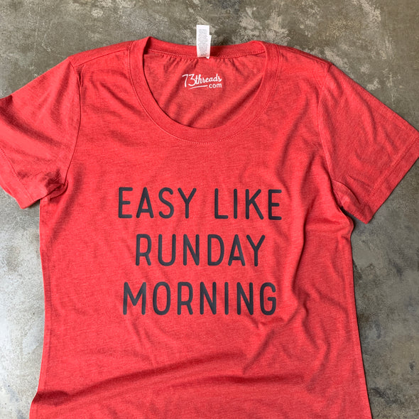 Easy Like Runday Morning