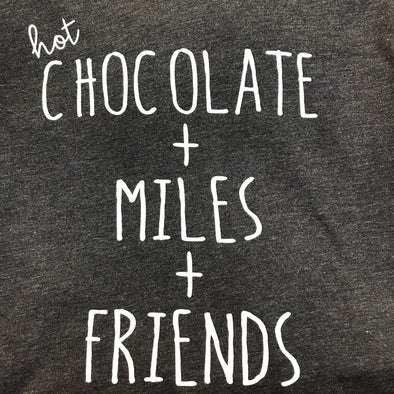 Hot Chocolate + Miles + Friends