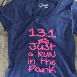 13.1 Just a Run in the Park - Pink