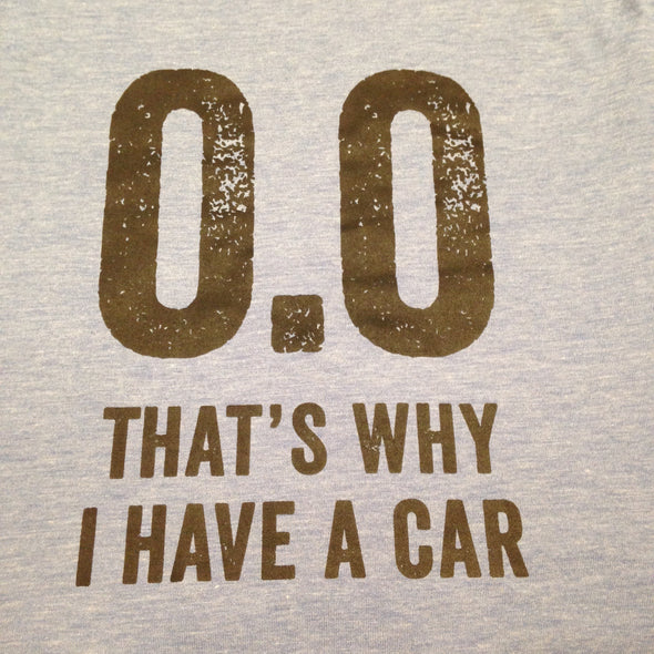 0.0 That's Why I Have A Car - Black Ink