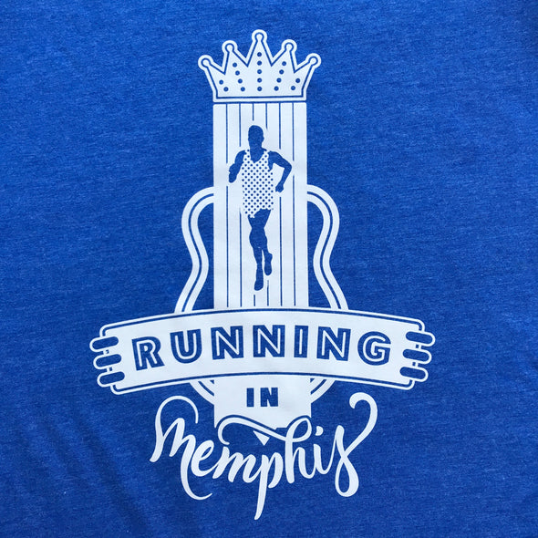 Running in Memphis - Sign - White Ink