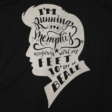 Running in Memphis - White Ink