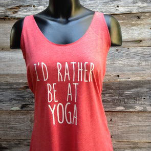 I'd Rather Be at Yoga