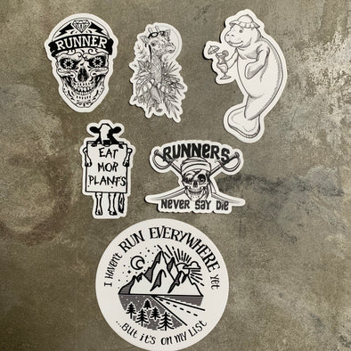 Sticker 6 pack