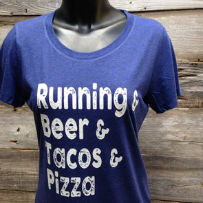 Running & Beer & Tacos & Pizza