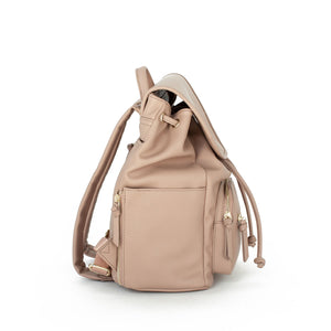 DUSTY ROSE DRAWSTRING BAG