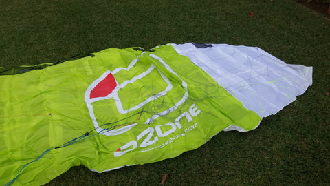 Summit V3 8m Lime Green (solo kite)