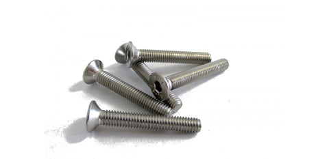 FLAT HEAD SCREWS M6X25MM