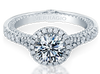 Couture ENG-0424DR Diamond Engagement Ring Semi-Mount 0.70 ctw.