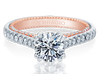 Couture ENG-0452R-2WR Diamond Engagement Ring Semi-Mount 0.40 ctw.