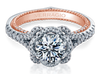 Couture ENG-0444-2WR Diamond Engagement Ring Semi-Mount 0.60 ctw.